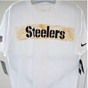PITTSBURGH STEELERS ADULT ( L ) DRI-FIT NIKE SHIRT